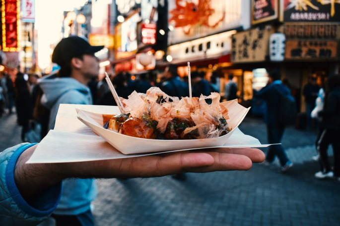 Takoyaki Picture, Photo by Agathe Marty on Unsplash
